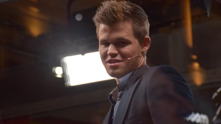 Magnus Carlsen i EnterCard Chess Qualifier. Foto: Yerazik Khachatourian