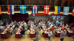 Oversiktsbilde fra teatersalen i Vila de Sitges. Foto: Tarjei J. Svensen