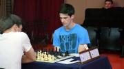 Salomon spilte den fryktede Bankö-gambiten der svart ofrer bonde for aktivitet. Senere bukket Johannessen under for presset. Foto: Tarjei J. Svensen