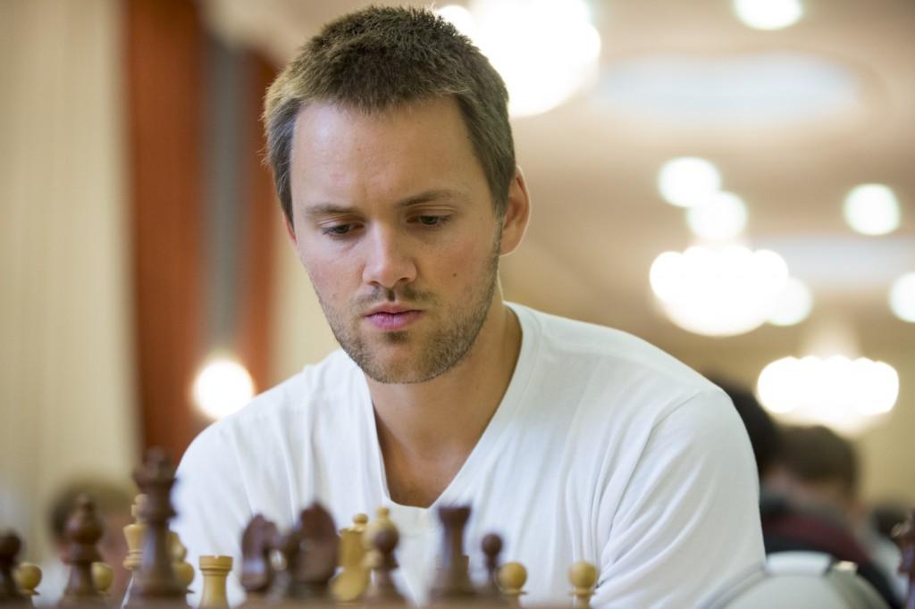 Nicolai Getz med 3 av 6 poeng og god prestasjon i Skopje. Foto: Maria Emelianova