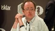 Boris Gelfand er en av de mest sympatiske spillerne i verdenstoppen. Alltid hyggelig, men veldig fokusert og i sin egen verden under partiet. Foto: Yerazik Khachatourian