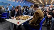 Carlsen-Eljanov, Foto: Alina l'Ami