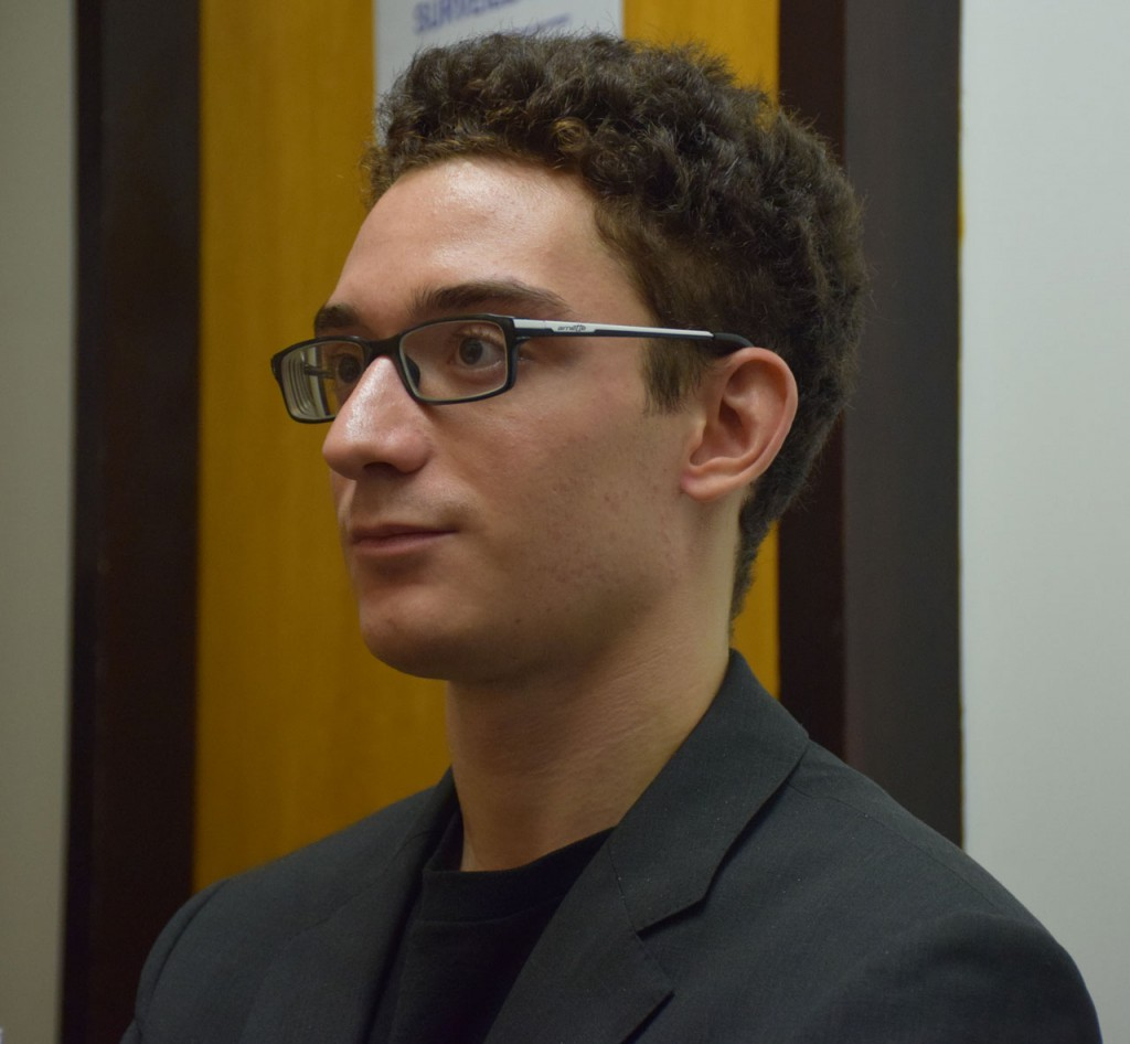 Fabiano Caruana. Foto: Yerazik Khachatourian