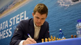 Magnus Carlsen, Tata Steel Chess 2016. Foto: Yerazik Khachatourian