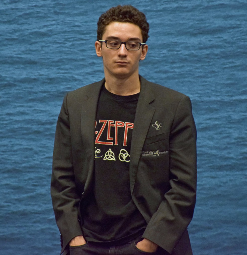 Fabiano Caruana - favoritt i Kandidatturneringen? Foto: Yerazik Khachatourian