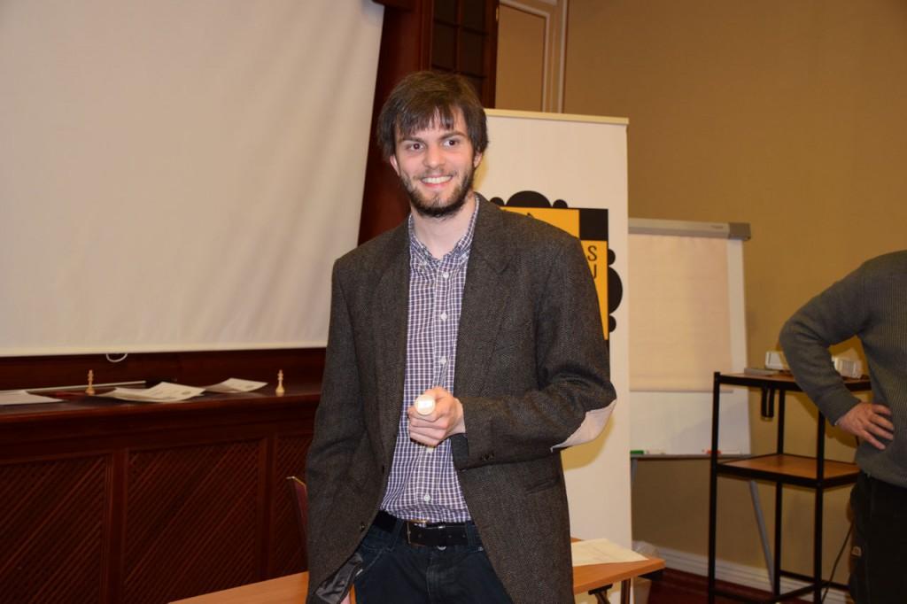 Nils Grandelius chose number 3. Photo: Tarjei J. Svensen