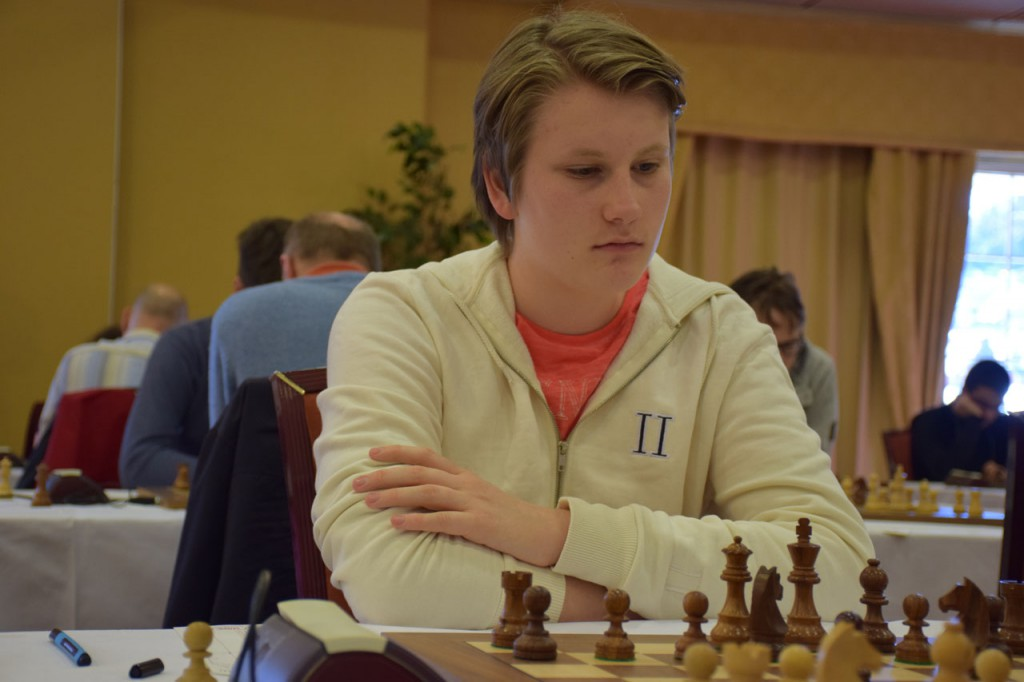 Johan-Sebastian Christiansen med god prestasjon på Fagernes. Foto: Tarjei J. Svensen