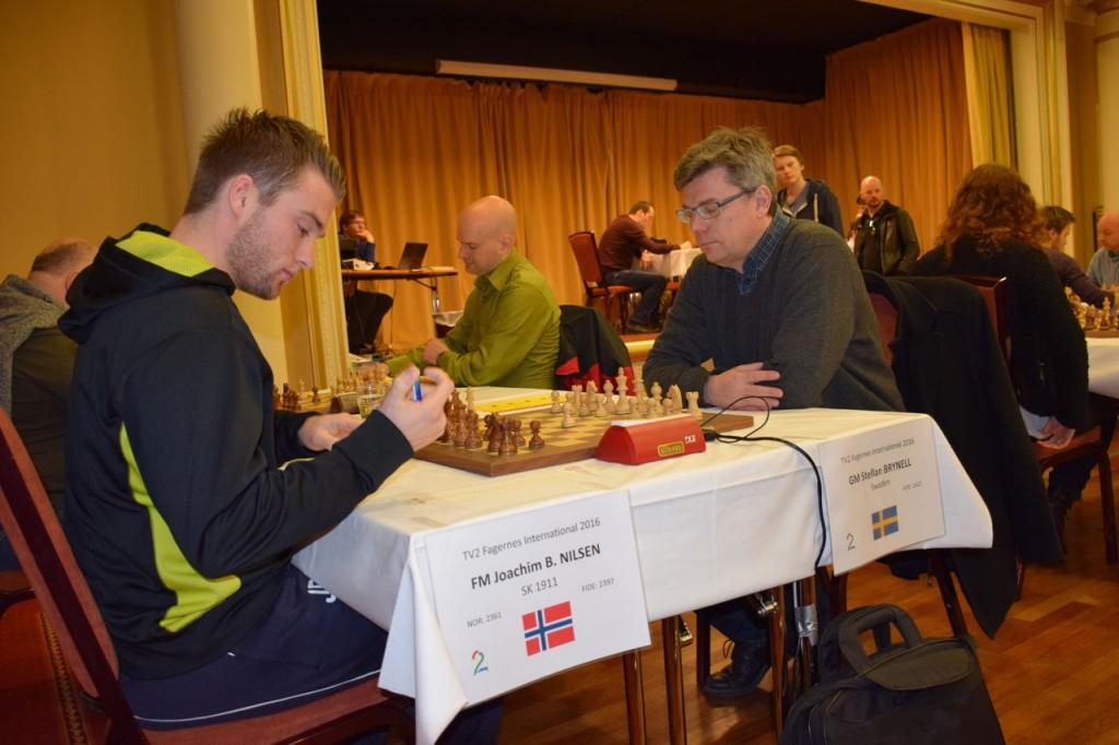 Joachim B. Nilsen tar sitt siste halvpoeng på Fagernes.