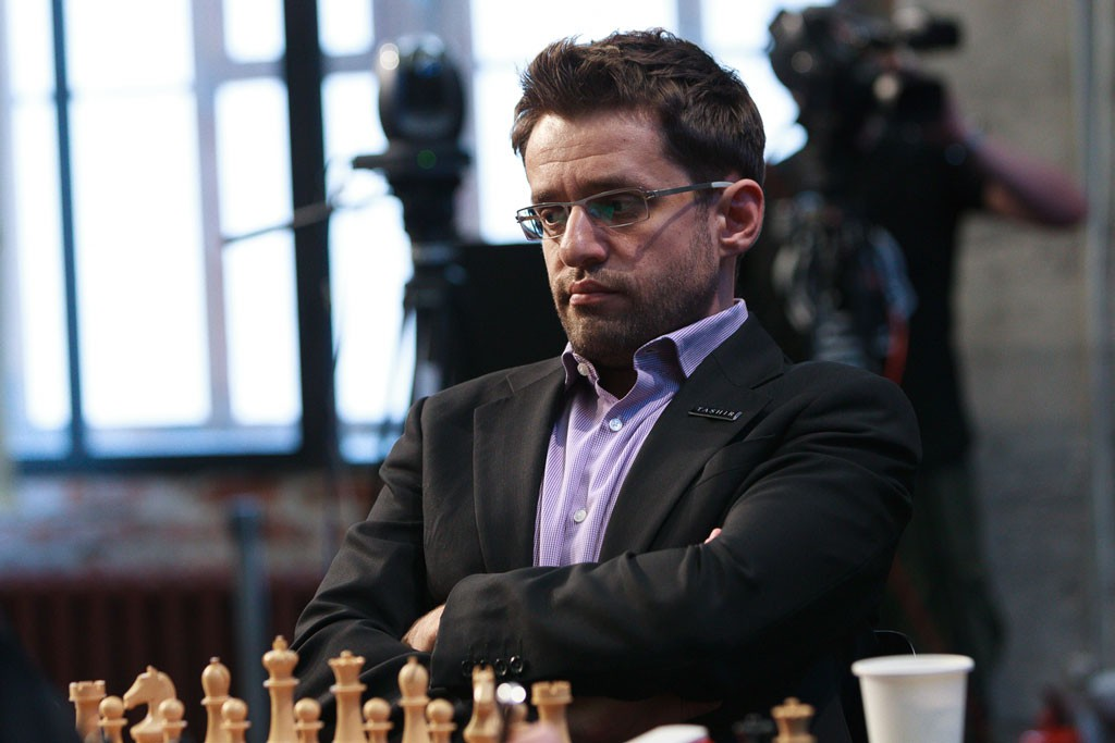 Levon Aronian i delt ledelse i Moskva. Foto: WORLD CHESS Press Office; Evgeny Pogonin