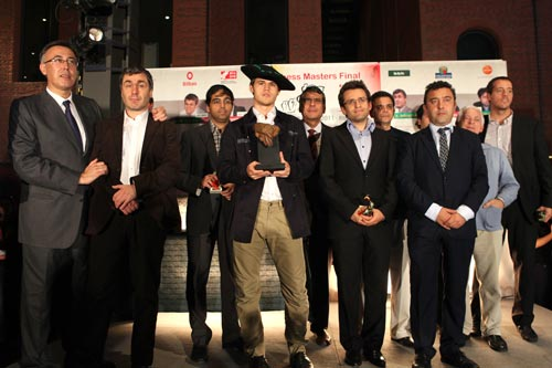 Carlsen til topps i 2011. Foto: Bilbao Final Masters