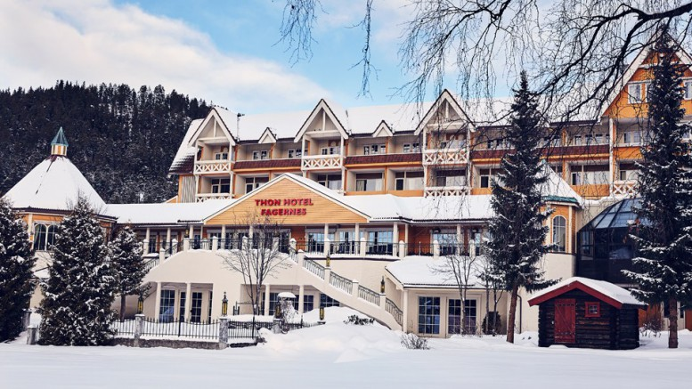 Thon Hotel Fagernes. Foto: Thon