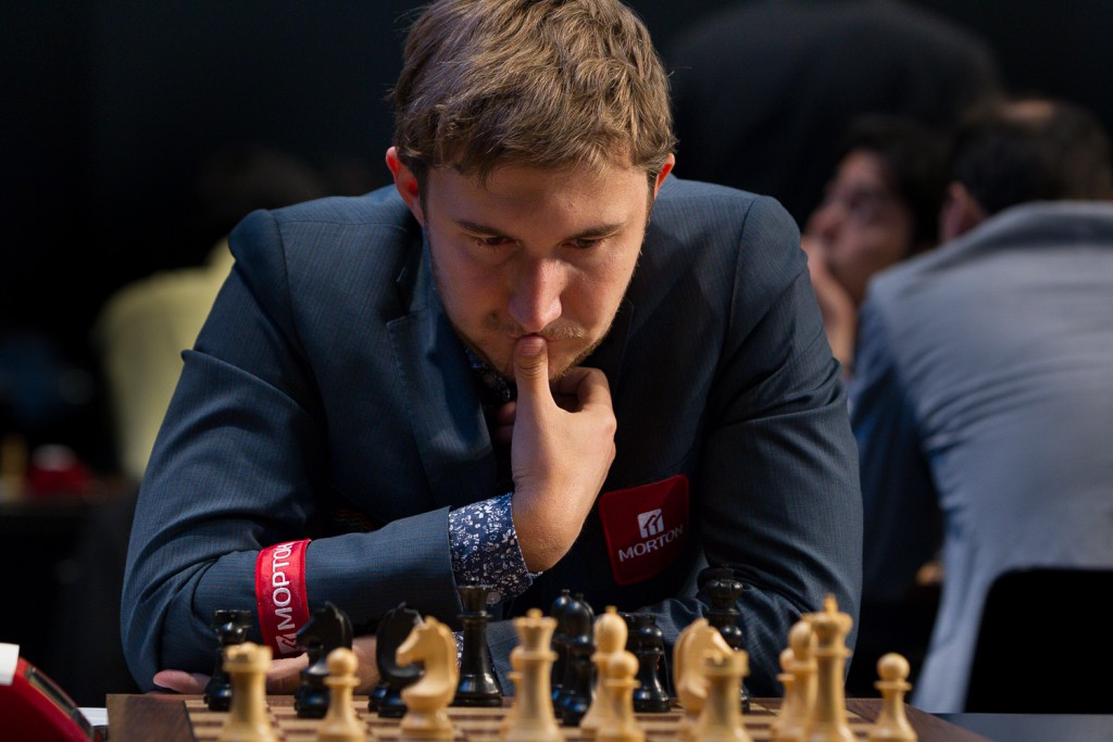 Blir Sergey Karjakin Magnus Carlsens motstander i New York? Foto: WORLD CHESS Press Office; Evgeny Pogonin