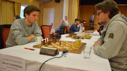 Frode Urkedal vant en knusende seier over Leif E. Johannessen. Foto: Tarjei J. Svensen