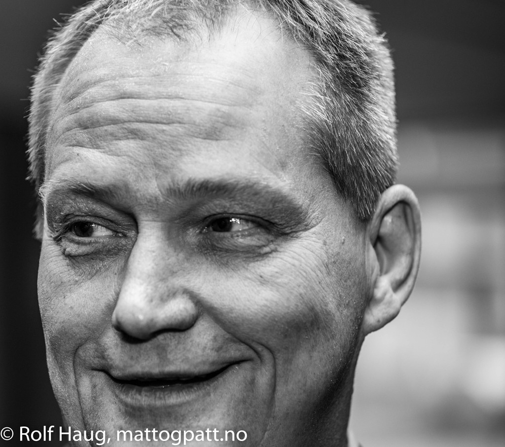 Jøran Aulin-Jansson, previous president of the Norwegian Chess Federation, now just a board member of the Norway Chess tournament. Photo: Rolf Haug