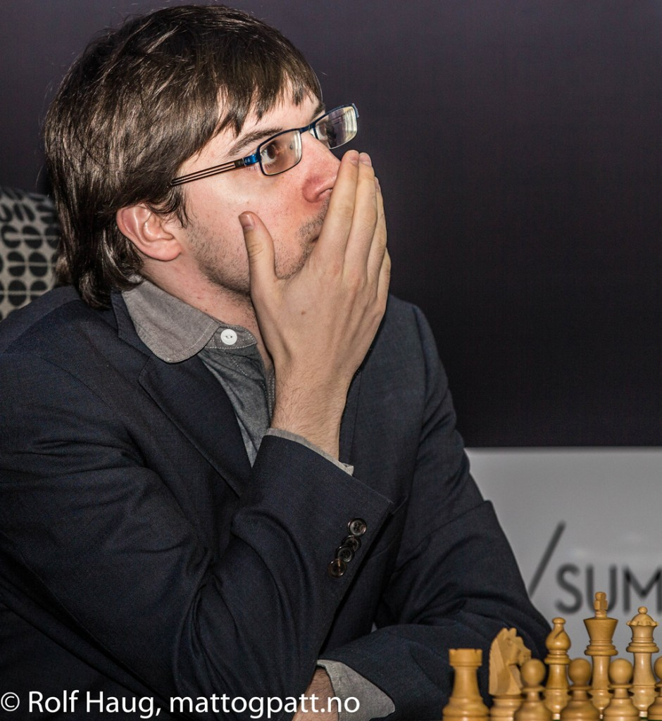 Maxime Vachier-Lagrave, world number 5. Photo: Rolf Haug