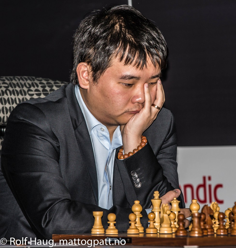 Li Chao. Photo: Rolf Haug