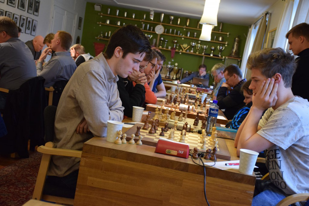 Alta var ingen match for Nordstrand, selv om det gikk galt på 1. bord. Foto: Tarjei J. Svensen