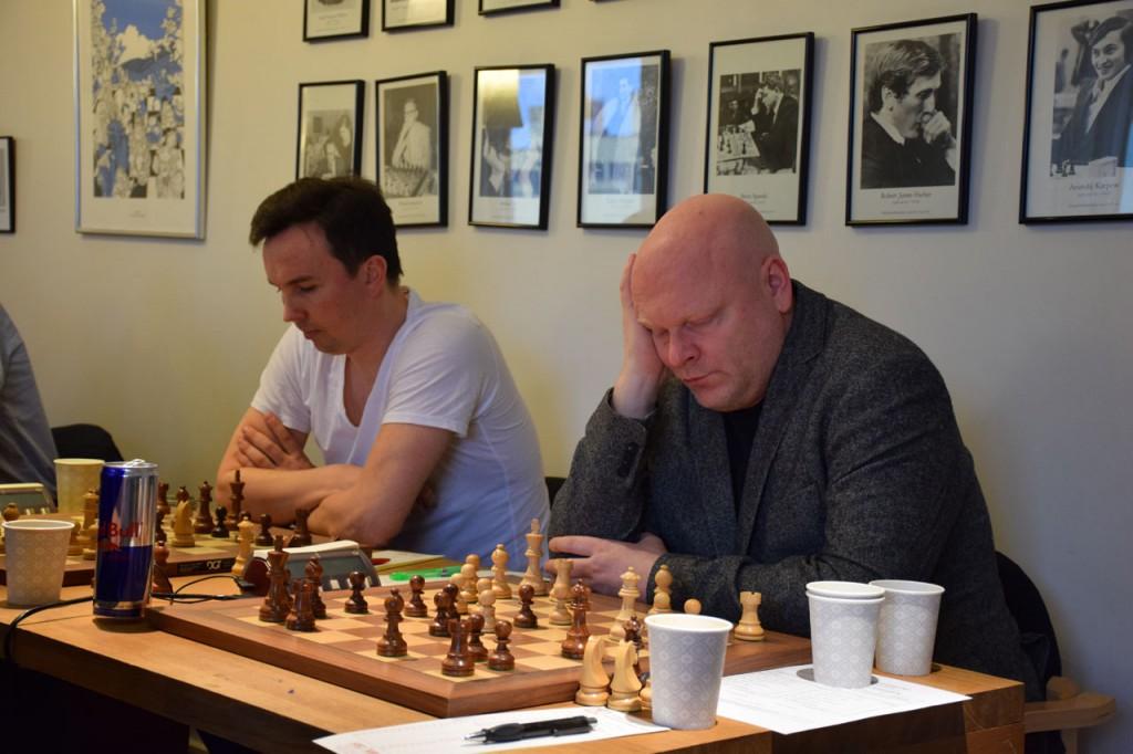 Ole Kvamme på SK 96s 6. bord rotet bort en vunnet stilling. Foto: Tarjei J. Svensen