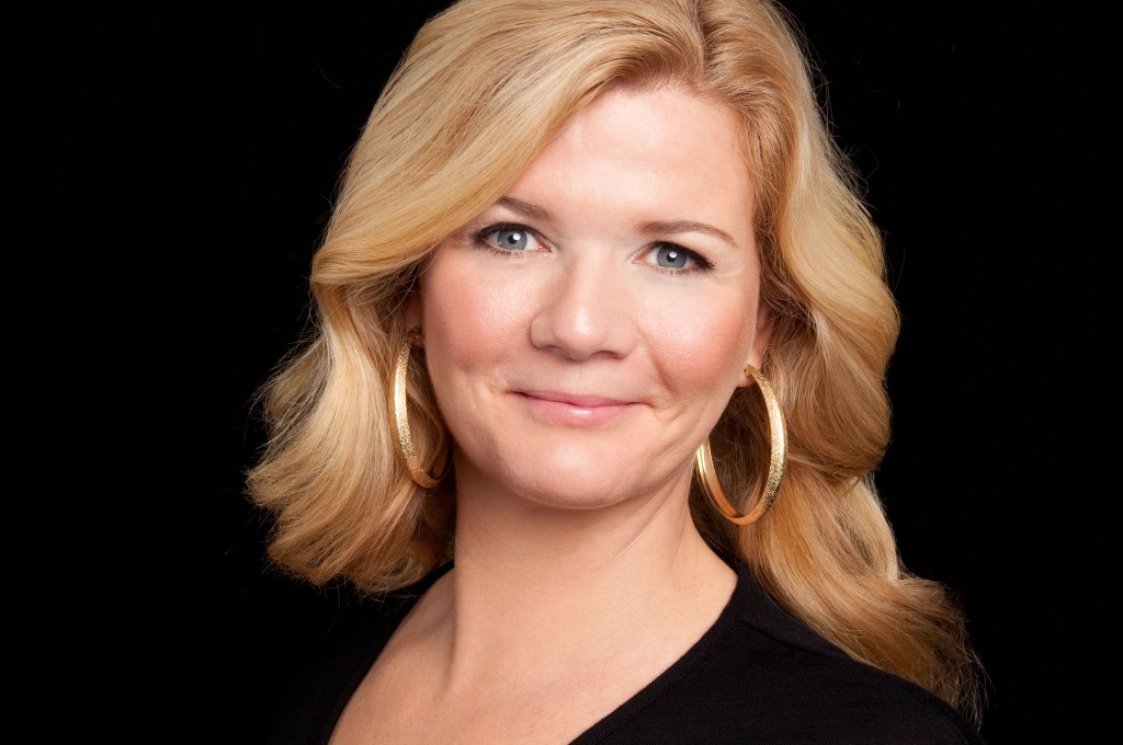 Norwegian TV host, Anne Lindmo. Photo: Evy Andersen/NRK