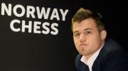 Magnus Carlsen under dagens oppgjør. Foto: Yerazik Khachatourian