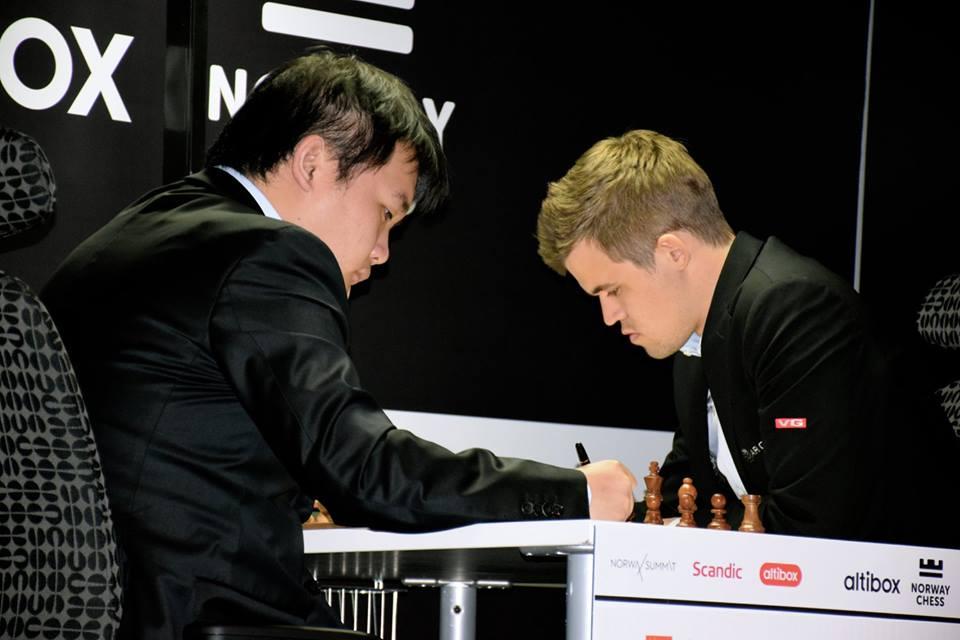 Li Chao - Magnus Carlsen
