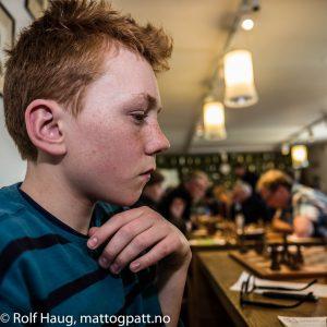Sondre Lillestøl Melaa. Foto: Rolf Haug (www.haugsbilsalg.no)