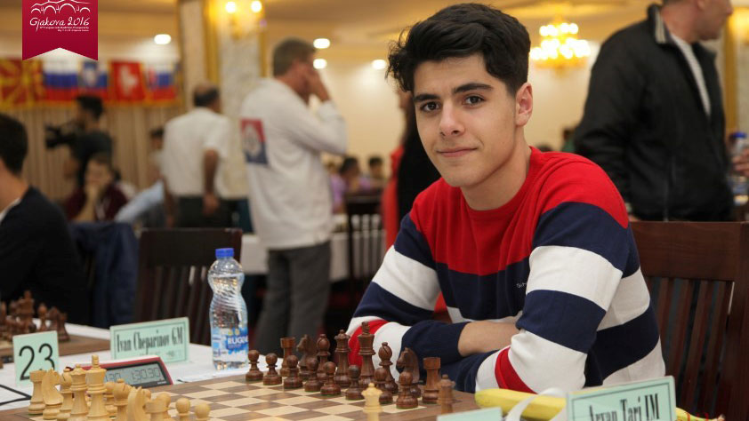 Aryan Tari. Photo: eicc2016.com