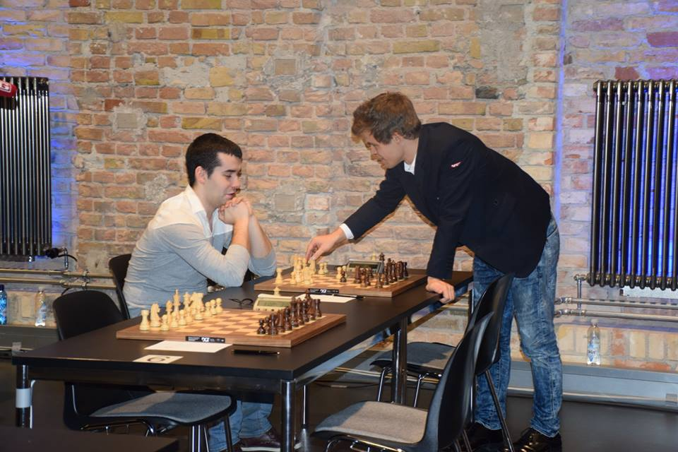 Will Ian Nepomniachtchi assist Magnus Carlsen or Sergey Karjakin in the next WC match? Photo: Yerazik Khachatourian