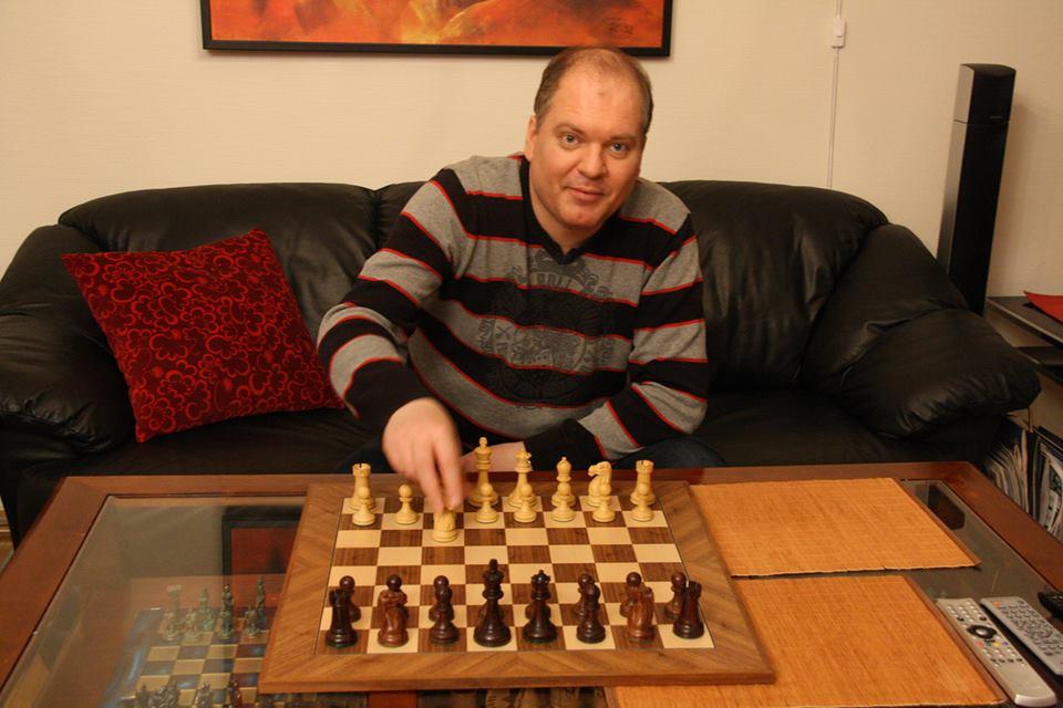 Sven Wisløff Nilsen, alias Sjakkfantomet. Foto: Privat