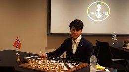Aryan Tari i Checkmate London. Foto: Siamak Tari