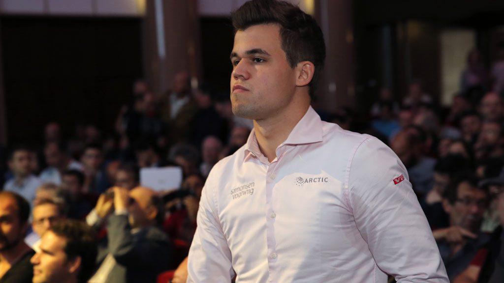 Magnus Carlsen: Foto: Spectrum Studios