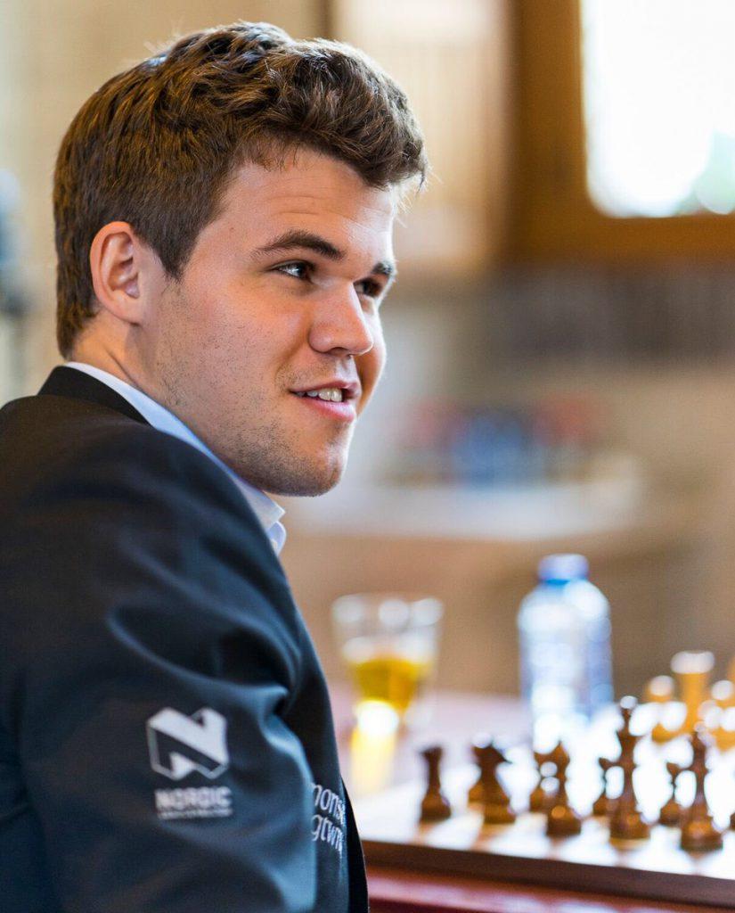 En fornøyd verdensmester. Foto: Lennart Ootes/Grand Chess Tour