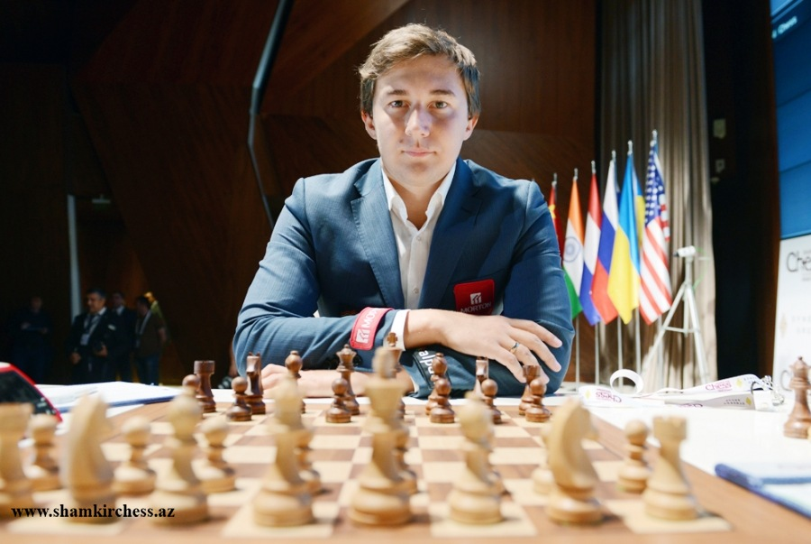 Sergey Karjakin. Photo: Shamkirchess.az