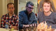Blir Kjetil, Simen eller Frode norgesmester i sjakk 2016? Foto: Tarjei J. Svensen/Rolf Haug