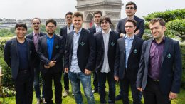 Fra åpningen av Paris Grand Chess Tour 2016. Foto: Lennart Ootes