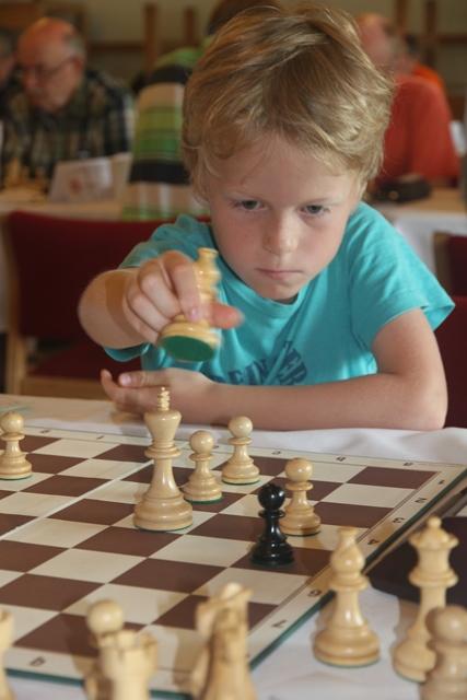 Aksel Bu Kvaløy. Foto: XtraCon Chess Open