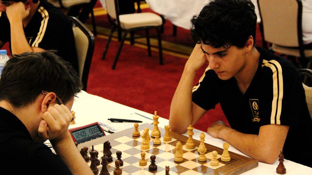 Aryan Tari i Tyrkia i dag. Foto: Doga San/Turkish Chess Federation