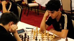 Aryan Tari i Tyrkia i dag. Foto: Doga San/Turkish Chess Federation