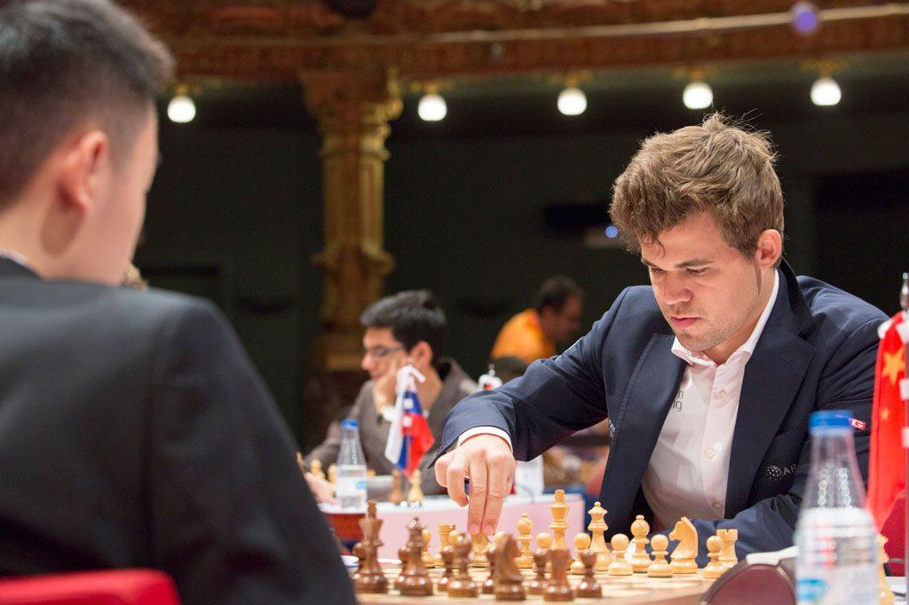 Carlsen-Wei Yi i Bilbao