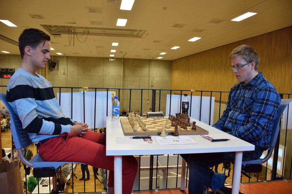 Eivind Olav Risting med flott start i sin elite-debut. Foto: Tarjei J. Svensen