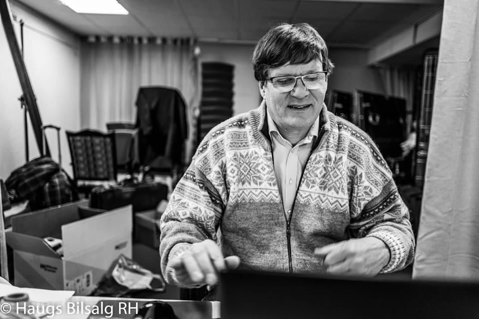Henrik Sjøl, turneringssjef i Norges Sjakkforbund. Foto: Rolf Haug (www.haugsbilsalg.no)