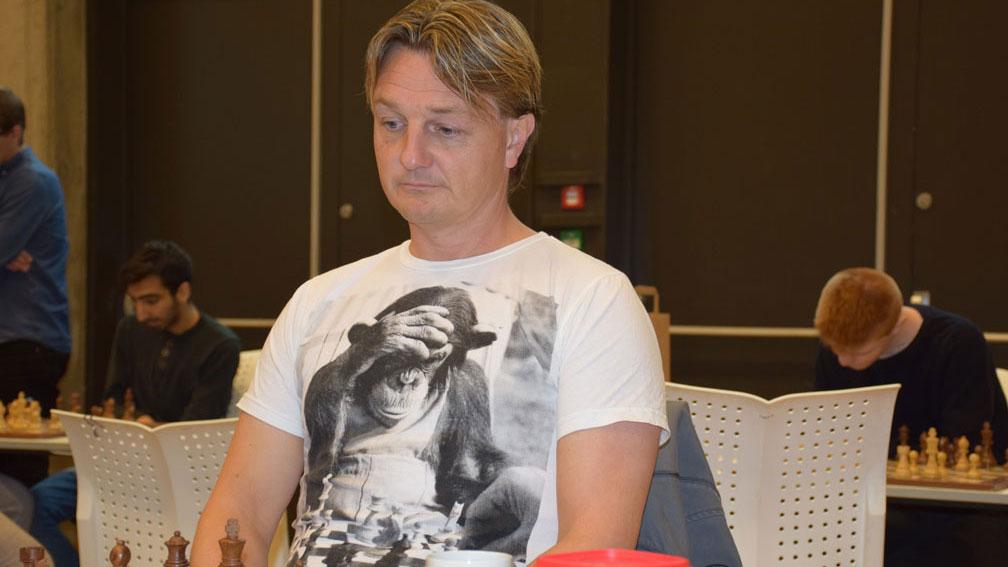 Morten L. Madsen, president i Norges Sjakkforbund. Foto: Tarjei J. Svensen