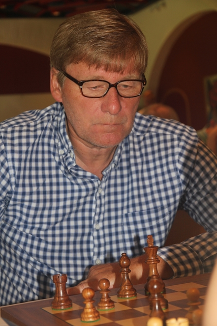 Paul Johansen. Foto: XtraCon Chess Open