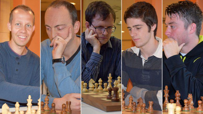 En av disse blir norgesmester i sjakk 2016. Foto: Tarjei J. Svensen