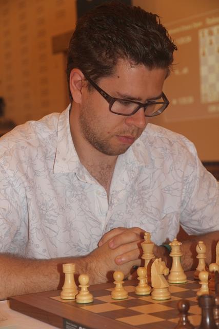 Skuffende start for norgestoer Hammer, men kan han våkne? Foto: XtraCon Chess Open