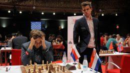 Karjakin og Carlsen