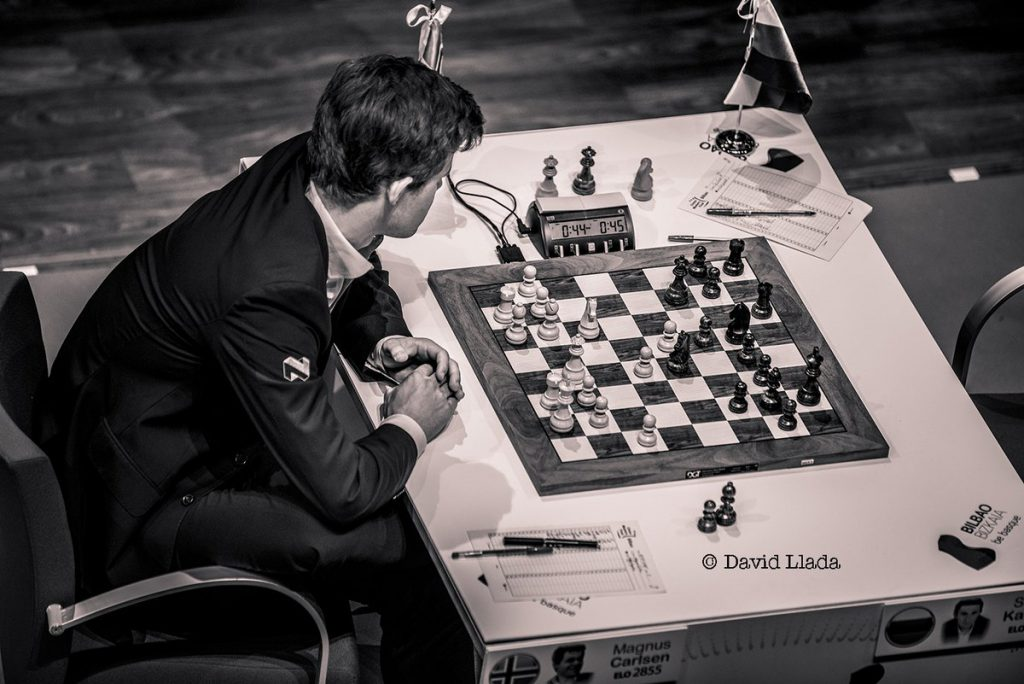 Magnus Carlsen i Bilbao