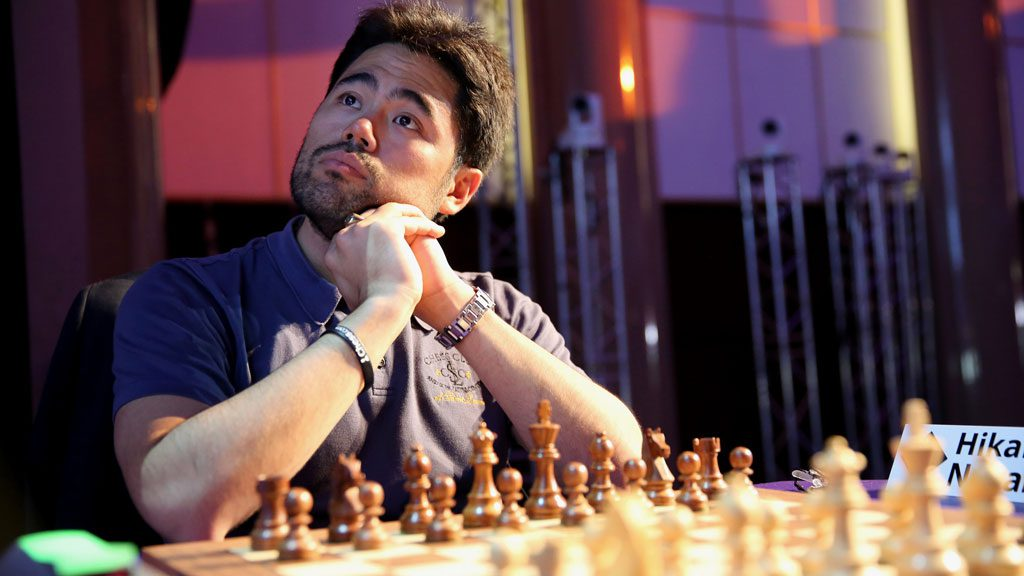 Hikaru Nakamura managed to beat Magnus Carlsen for once. Photo: Lennart Ootes/Grand Chess Tour