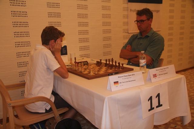 Simen Agdestein. Foto: XtraCon Chess Open
