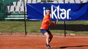 Carlsen i slaget. Foto: Odd Sølve I. Grannes/tennis-norge.com
